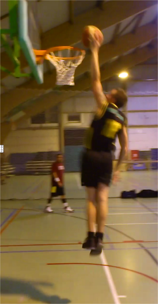 Steven Deschuyteneer Sport spieren ego voeding Basket dunk