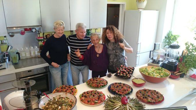 Steven Deschuyteneer Waarom raw voeding Iréne Grosjean
