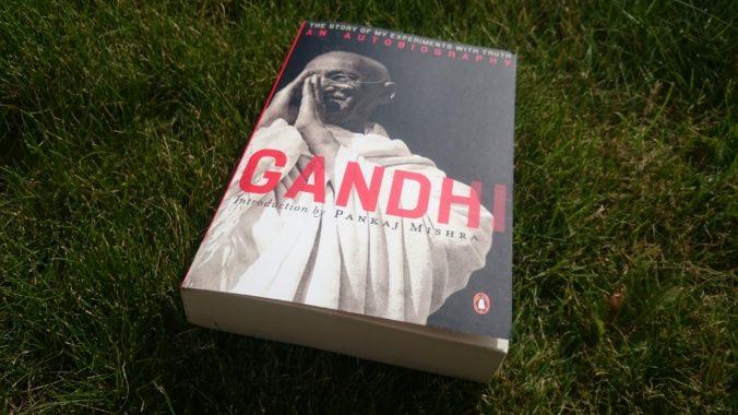 Steven Deschuyteneer Boek Gandhi