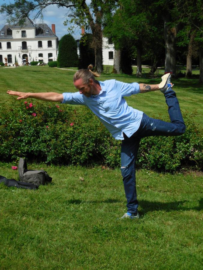 Steven Deschuyteneer Met mijn eetgewoonten word ik nooit ziek Yoga