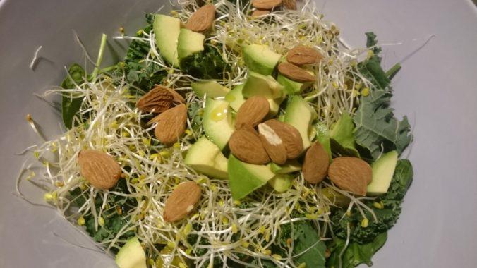 Steven Deschuyteneer Eet ik 100 altijd ongekookt raw plantaardig voedsel kale salad