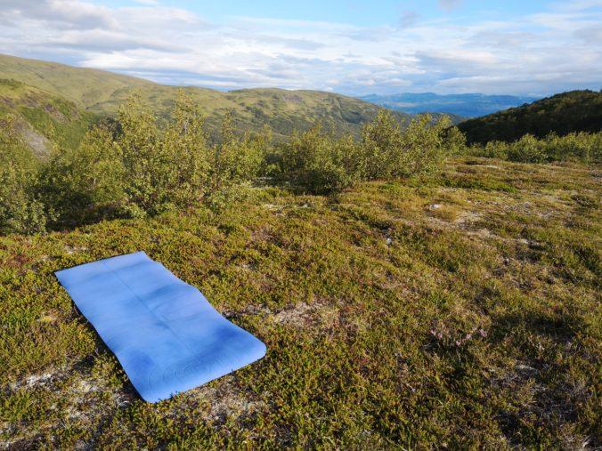 Steven Deschuyteneer Yoga ontdek jezelf Augustus 2019 Noorwegen
