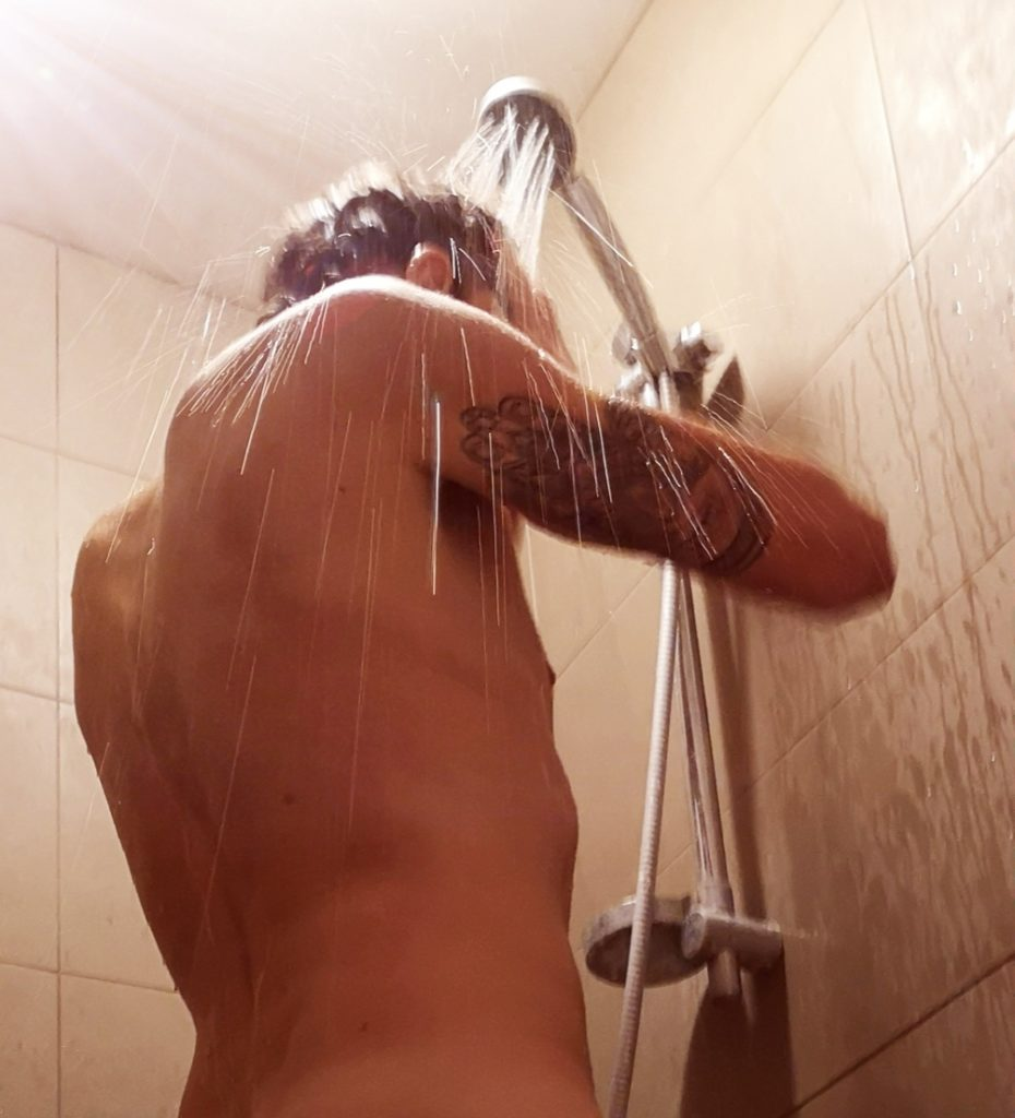 Steven Deschuyteneer 1 jaar koud douchen het resultaat douche 2