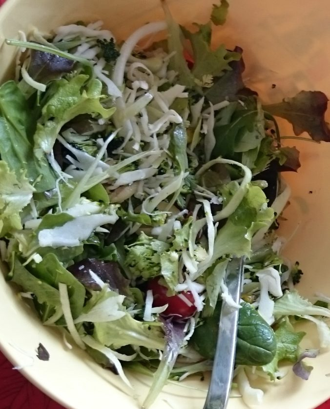 Steven Deschuyteneer Te mager of gezond mager salad