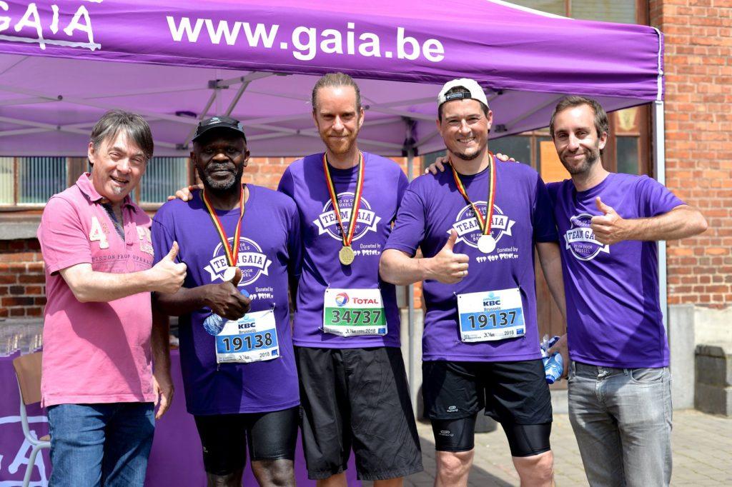 Steven Deschuyteneer Hoe makkelijk de 20km van Brussel lopen Gaia