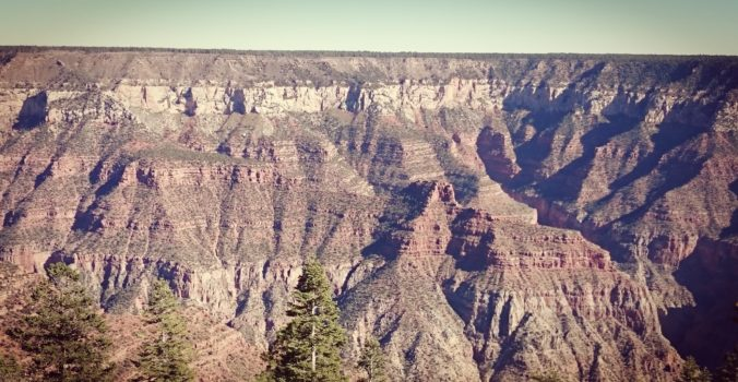 Steven Deschuyteneer Waarom blijven sporten in deze tijden Grand Canyon North Rim