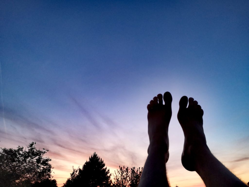 Steven Deschuyteneer Activiteiten blootsvoets doen, toch mee opletten bij sporten avond