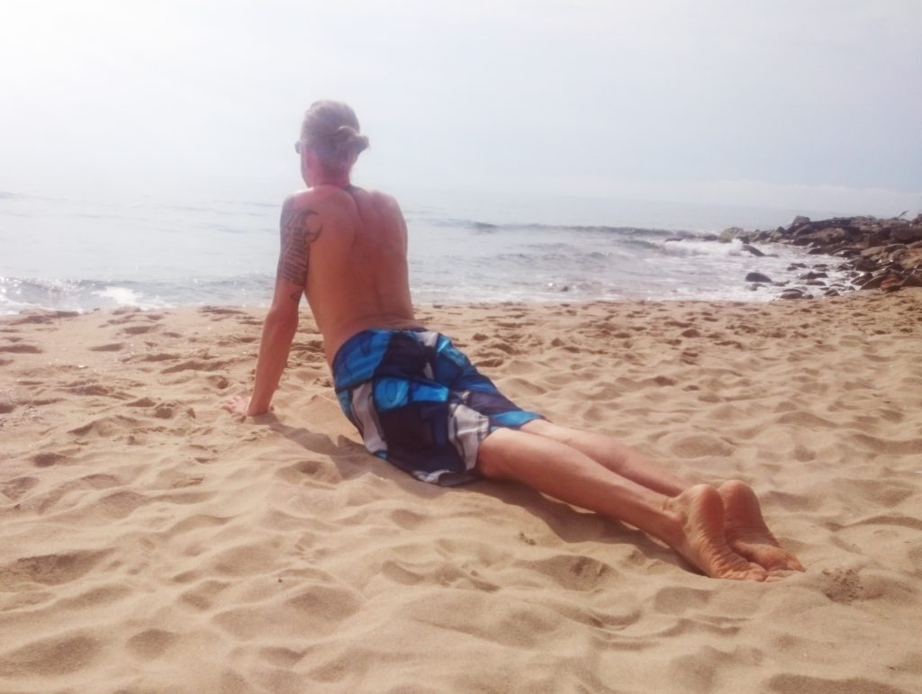 Steven Deschuyteneer Elke dag bidden, dit is het verschil dat het maakt yoga strand