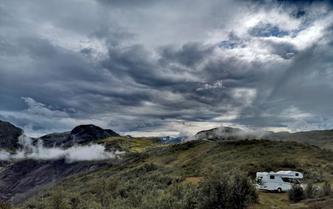 Steven Deschuyteneer Motorhome Mobile Home ervaring Denemarken Zweden Noorwegen 2019