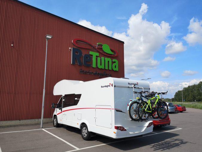 Steven Deschuyteneer Motorhome Mobile Home ervaring Denemarken Zweden Noorwegen ReTuna