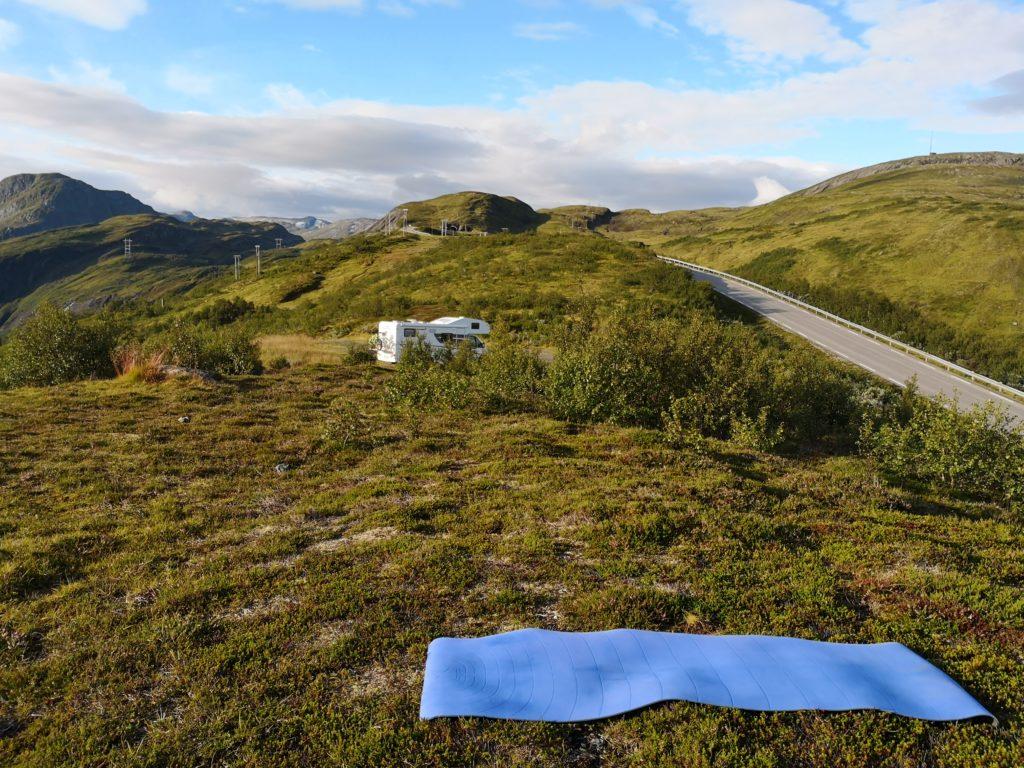 Steven Deschuyteneer Motorhome Mobile Home ervaring Denemarken Zweden Noorwegen Viewpoint Vik