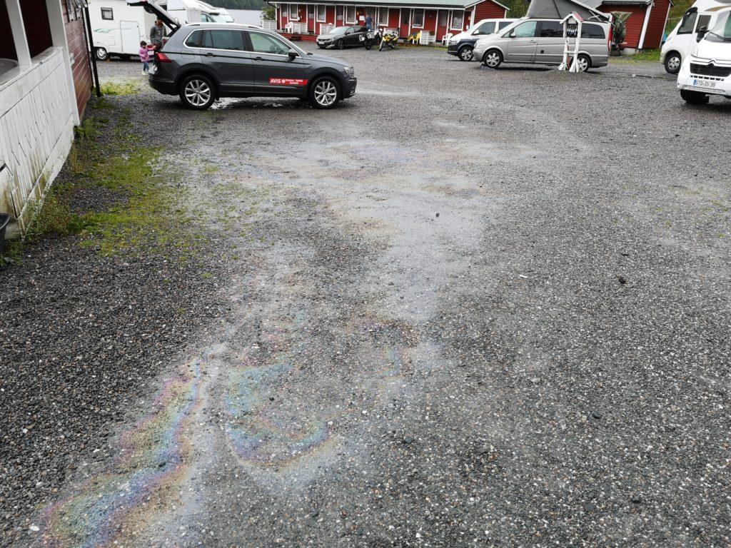 Steven Deschuyteneer Motorhome Mobile Home ervaring Denemarken Zweden Noorwegen olie