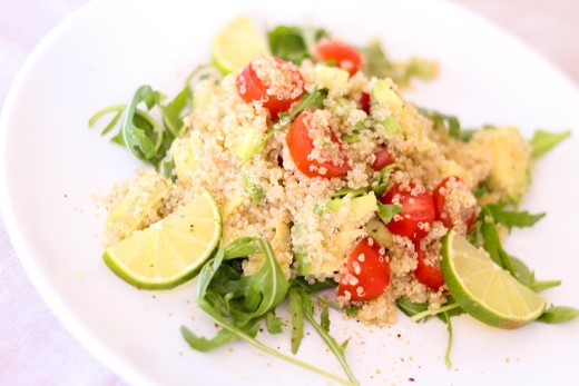 Steven Deschuyteneer Vegan spreekbeurt 10 jaar 4de leerjaar quinoa