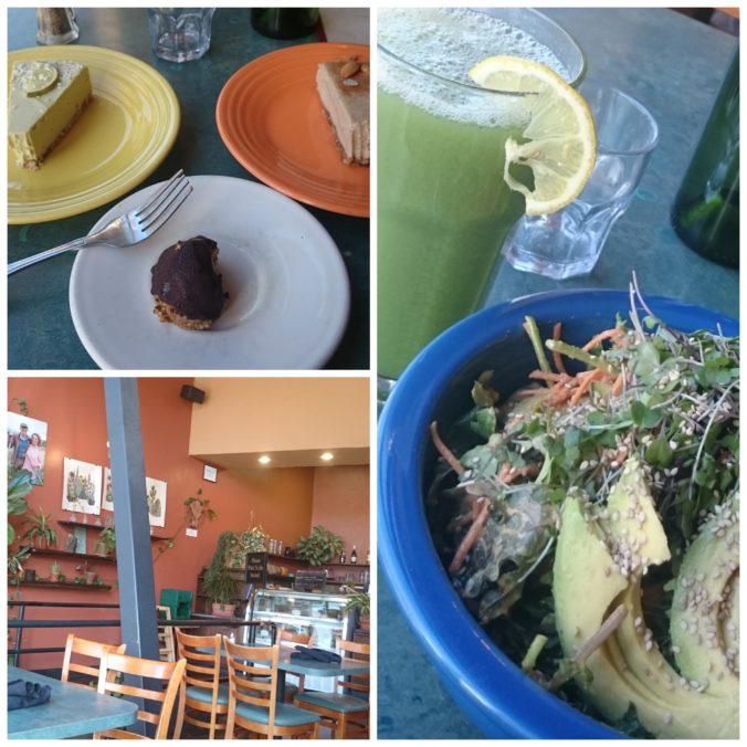 Steven Deschuyteneer Cafe Gratitude Santa Cruz Amerika