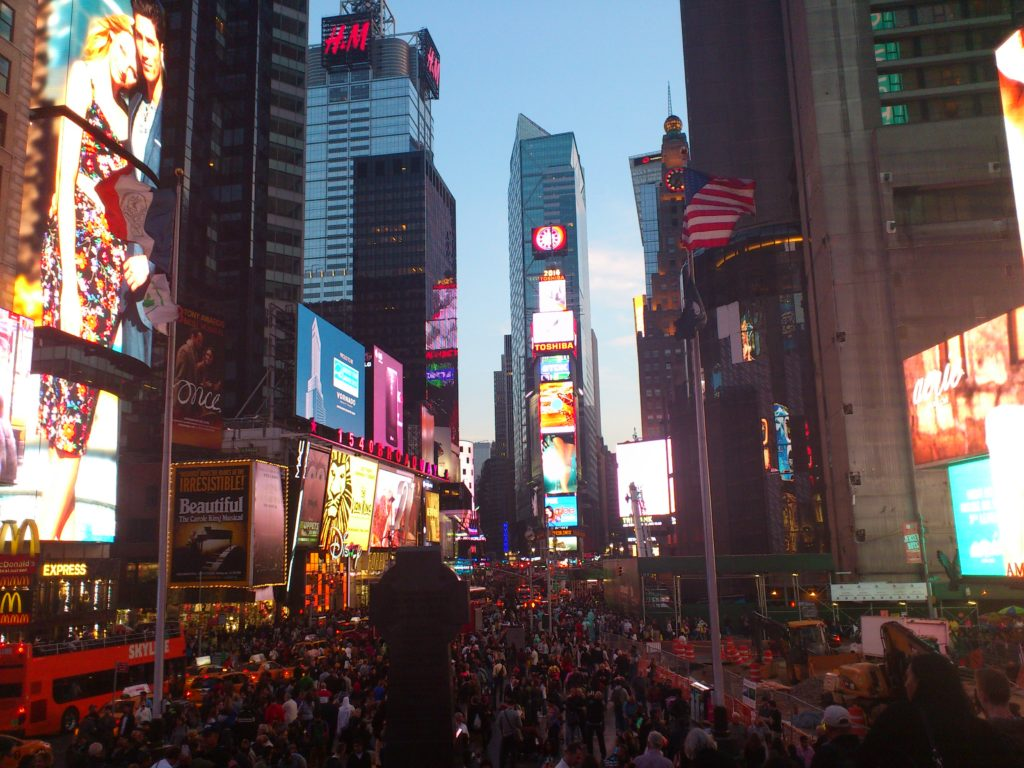 Steven Deschuyteneer Waarom we zo graag eten wat we eten Time Square New York