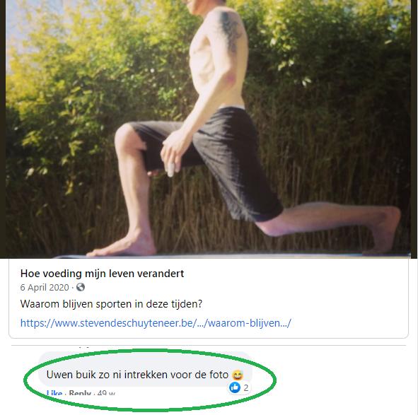 Steven Deschuyteneer Dat buikje en wat er eenvoudig aan doen Facebook