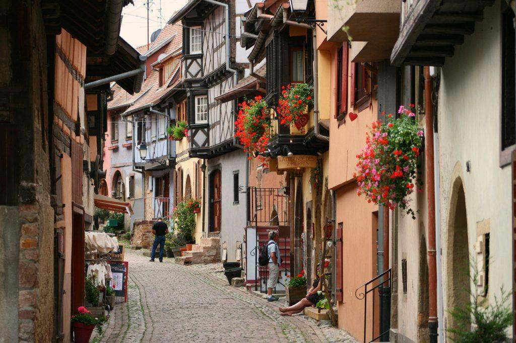 Steven Deschuyteneer Schrijf zelf eens een verhaal hier is het mijne ontwaken Eguisheim