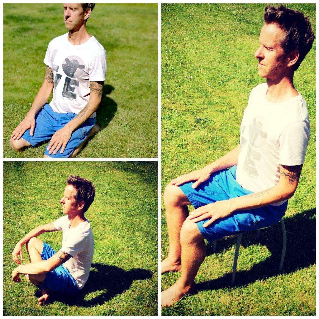 Steven Deschuyteneer Hoe start ik eenvoudig met mediteren positie