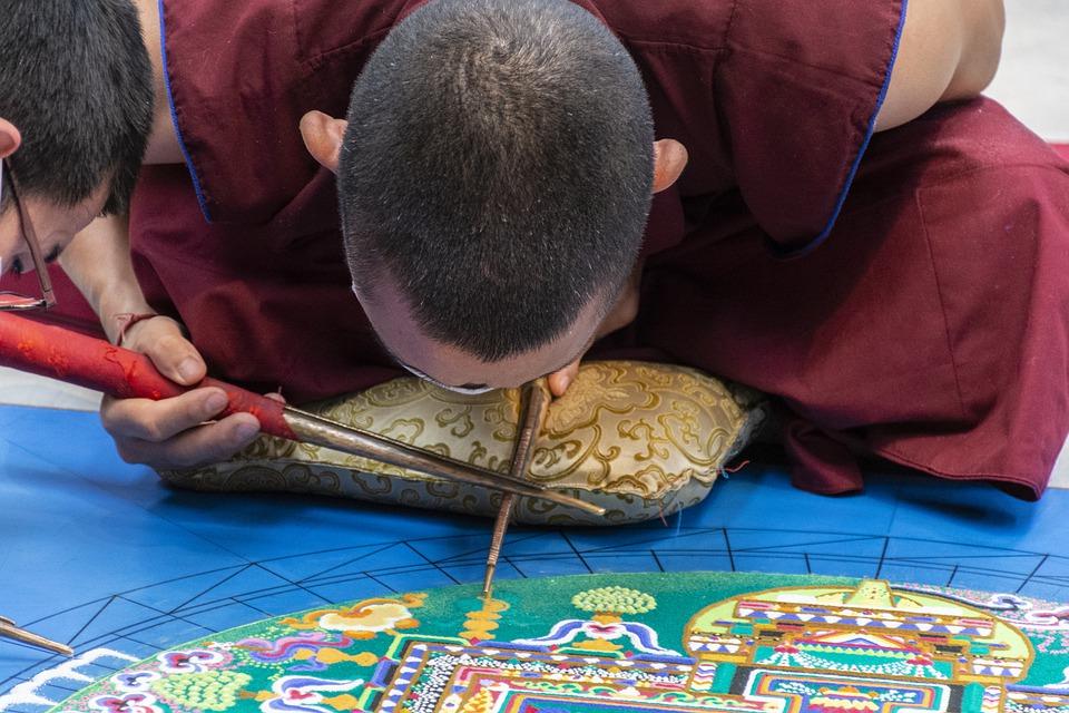 Steven Deschuyteneer Wat te leren van een mandala monnik