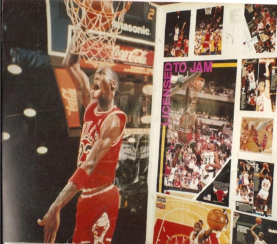 Steven Deschuyteneer Basketbal van plezier tot mentale geseling het heeft het allemaal Michael Jordan Kamer